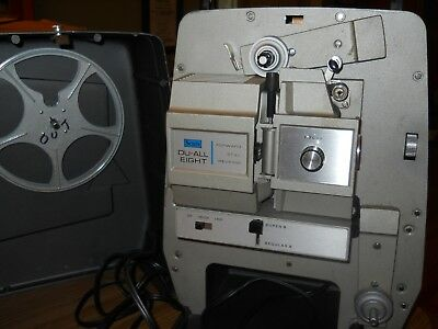 Sears Du-All Eight Projector-Reg. 8 And Super 8-Works