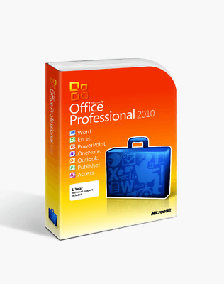Microsoft Office Professional Plus 2010- 32_64 Bit - Limited Offers