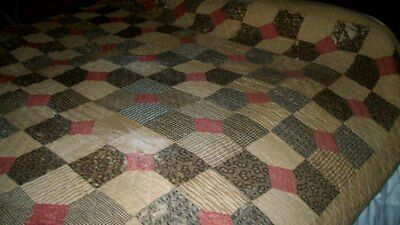 Antique HANDMADE QUILT Needs Repairs