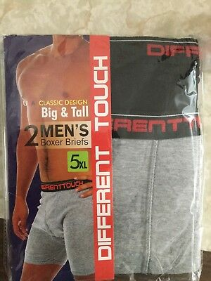 Different touch Big & Tall 5XL boxers brief
