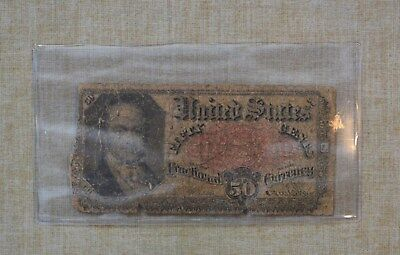 1875  50 Cents Fractional Currency - 50C - United States Fractional Currency