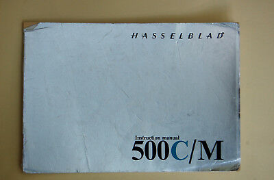 Hasselblad 500C/M Instruction Book Used Condition