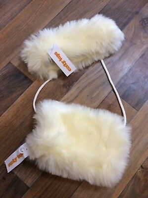 Furry Hand Muff And Faux Fur Headband One Size New With Tags