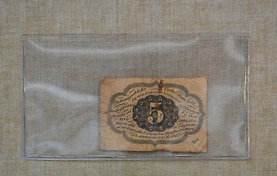 1862  5 Cents Fractional Postage Currency - 5 - United States Fractional Postage