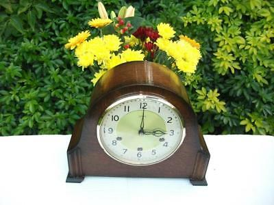 Stunning Smiths 8 Day Westminster Chiming Mantel Clock. 1957. Fully Overhauled.