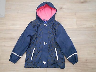 Bnwt Girls Waterproof Fleece Lined Jacket Age 6-8 Years 122/128 Cm