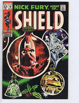 Nick Fury,Agent of SHIELD #10  Marvel 1969