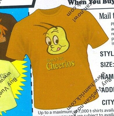 Honey Nut Cheerios Adult L Large T-shirt cereal General Mills BEE Target BUZZ