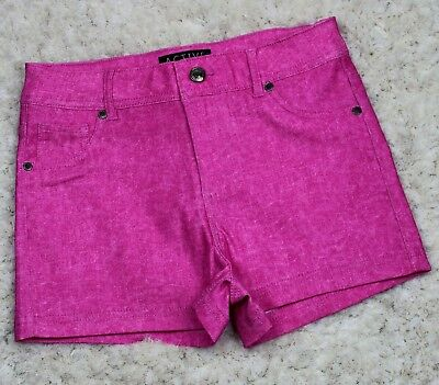 Knit Denim Shorts Wholesale (2S,2M,2L)