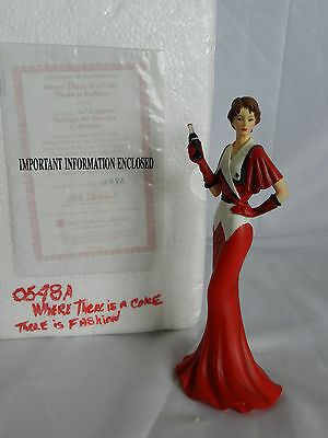 The Hamilton Collection Where There Is A Coke There Is Fashion Figurine #0548A