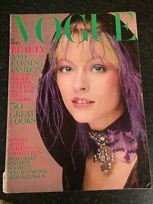Vintage Magazine - Vogue dated 1 October 1970