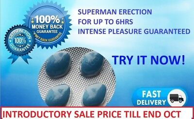 30 x 100mg XCITREX BLUE SEX TABLETS ERECTION AIDS FOR MEN @ SALE FOR 1 MONTH