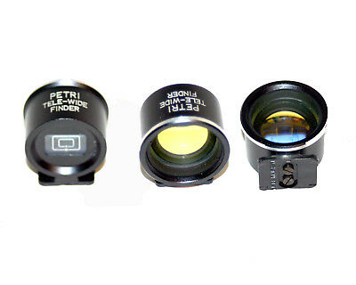 VINTAGE PETRI TELE- WIDE VIEWFINDER 35/80mm lens