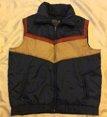 Vtg 80s Puffy Jacket Rare Puffer Vest Original Coat