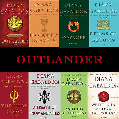 Outlander Series10 1-8 eReader / Kindle Books on CD mobi epub pdf