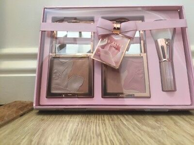 TED BAKER LIGHT UP THE ROOM Make Up bronzing brush Set GIFT SET