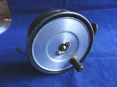 "A Scarce Super Condition 3 1/8"" Early Post War Hardy Trout Uniqua Fly Reel"