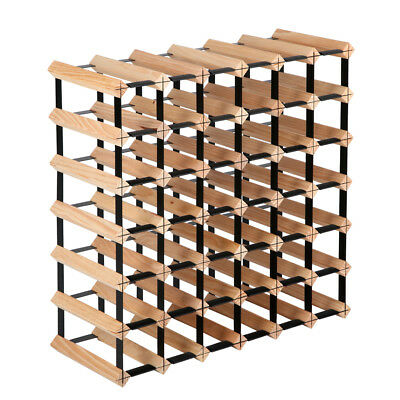 Timber Wine Rack 42 Bottles WINE-RACK-42B
