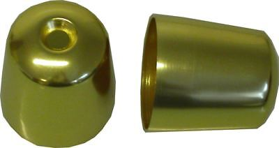 Bar End Weight Covers Gold Triumph Daytona 900-1200,Sprint,S/Triple