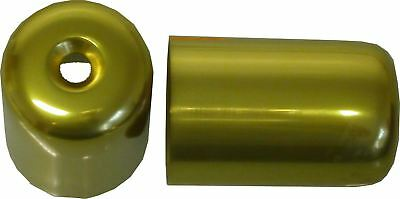 Bar End Weight Covers Gold GSXR1100, K-N