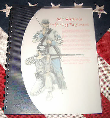 Civil War History of the 50th Virginia Infantry Regiment