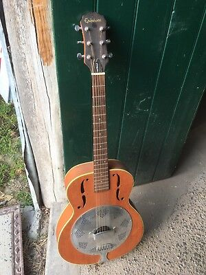 Vintage Epiphone Resonator Guitar