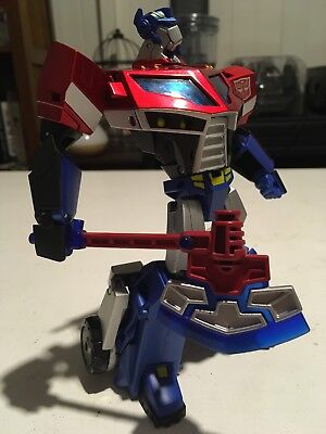 Transformers Takara Animated TA-01 Voyager Optimus Prime Complete W/ Axe