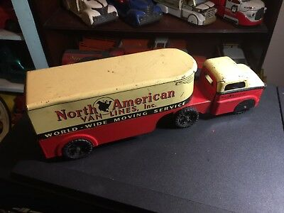 1950'S BANNER NORTH American Van LInes moving truck