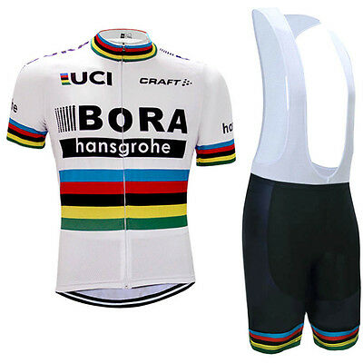Ensemble Cycliste  BORA WORLD CHAMPION maillot+short neuf