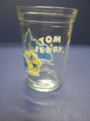Welchs Vintage Tom and Jerry Soccer 1991. Jelly Glass.