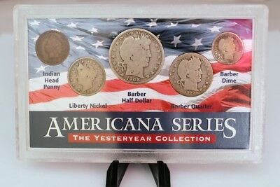 Americana Series Yesteryear Collection 5 Coins