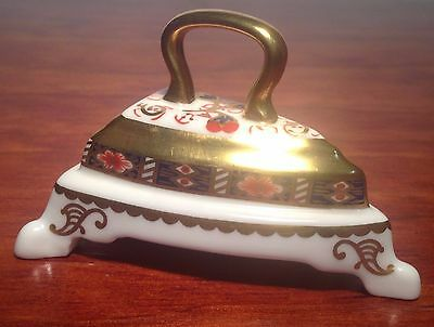 Royal Crown Derby Miniature Traditional Iron