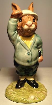 Royal Doulton Bogey Bunnykins Model DB32 Golfer Perfect