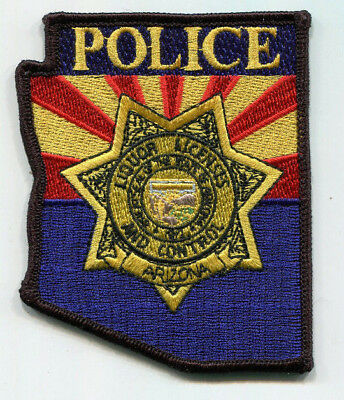 Arizona Liquor Licenses and Control Police Patch (ABC) /// FREE US Shipping