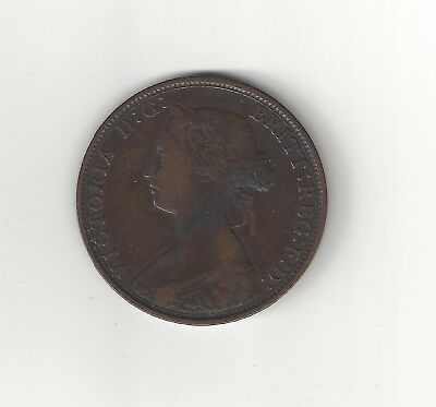 Canada Nova Scotia 1864 one cent Pre Confederation