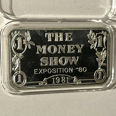 Vintage Sunshine Bullion NOT Sunshine Mint 1 Troy Oz .999 Fine Silver Bar