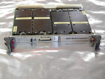 Myrinet 2000 CSPI MC2841 2800 Multicomputer VME Board