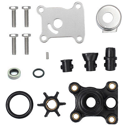 US Seller Impeller Show  394711 WATER PUMP KIT FITS 9.9, 15 HP 2 AND 4 STROKE