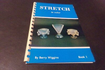 Vintage Stretch Glass Book & Price Guide Dolphin Compote  Fenton Norwood Nu-Art