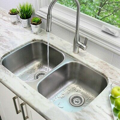 Double Bowl Undermount Sink S-200