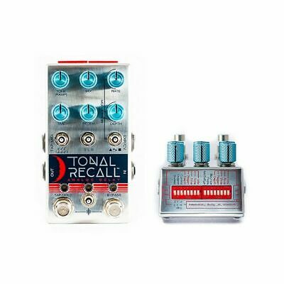 Chase Bliss Audio Tonal Recall Analog Delay Guitar Effects Pedal (Blue Knob )