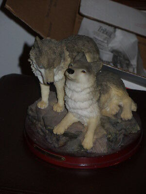 Wolf figures Montefiori Collection as is