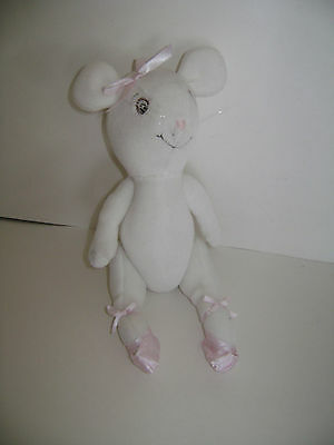 """American Girl Angelina Ballerina Doll 10"""" Authentic AG Plush Jointed RETIRED"""