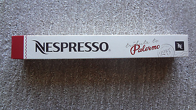 NESPRESSO Tribute to Palermo Limited Edition 2015 coffee pods /sleeve /capsules
