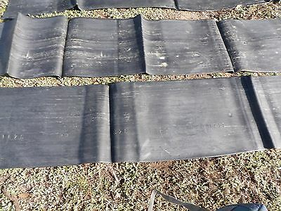 conveyor belt rubber WEED CONTROL HORSE STABLES/YARDS FENCE TRUCK SHED FLOOR ETC