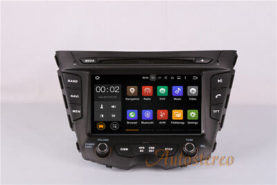 Android 7.1 2 Din Car DVD player GPS Navigation for HYUNDAI Veloster 2011-2016