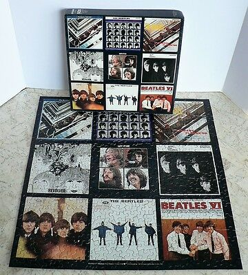 Vintage THE BEATLES Springbok Puzzle Album LP Covers 100% Complete