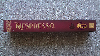 NESPRESSO Monsoon Malabar Limited Edition 2015 coffee pods / sleeve / capsules