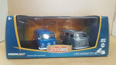 Greenlight 1:64 firstcut 1968 volkswagen type 2 bus