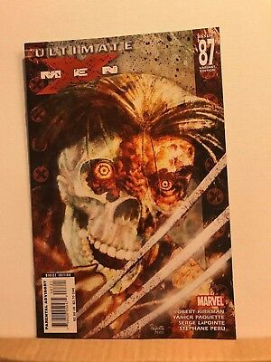 Ultimate X-Men # 87 (Dec 2007, Marvel) Zombie Month Yanick Paquette Variant NM